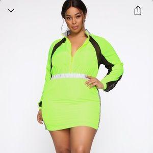 Fashion Nova Plus size Reflective Dress size 1x
